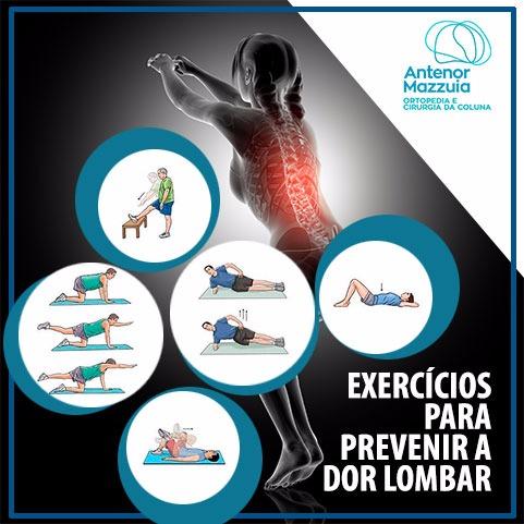 Exercícios para prevenir a dor lombar