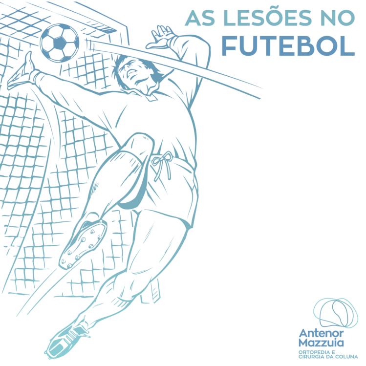 As lesões do futebol