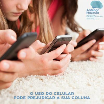 celular prejudica a coluna